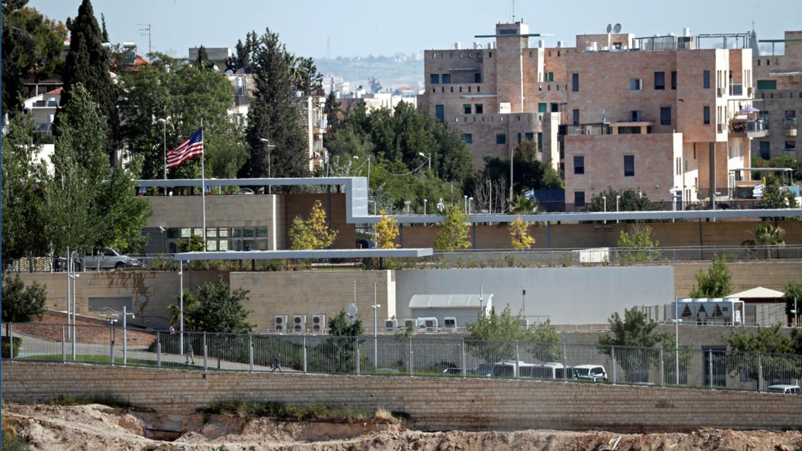مبنى القنصلية الأميركية في جنوب القدس الذي سيصبح مقر السفارة بعد نقلها رسمياً في 14 مايو/أيار من تل أبيب