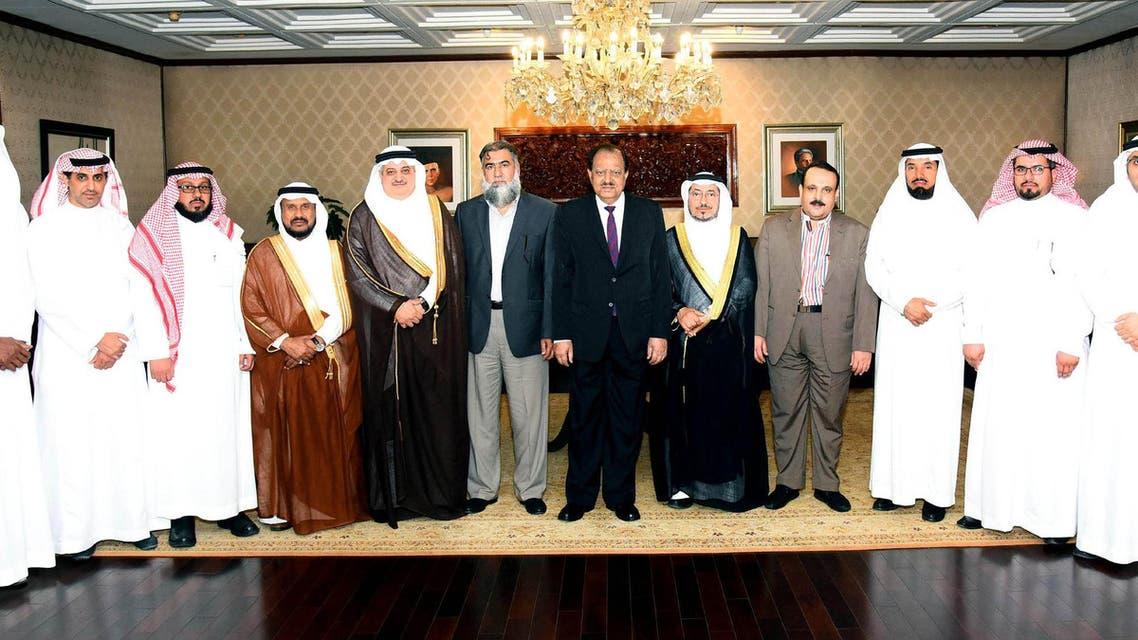 سعودی وفد کی پاکستانی صدر ممنون حسین سے ملاقات