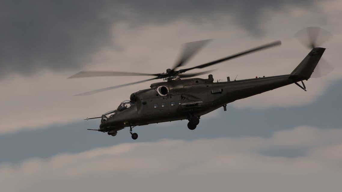 مروحية روسية من طراز كا-52