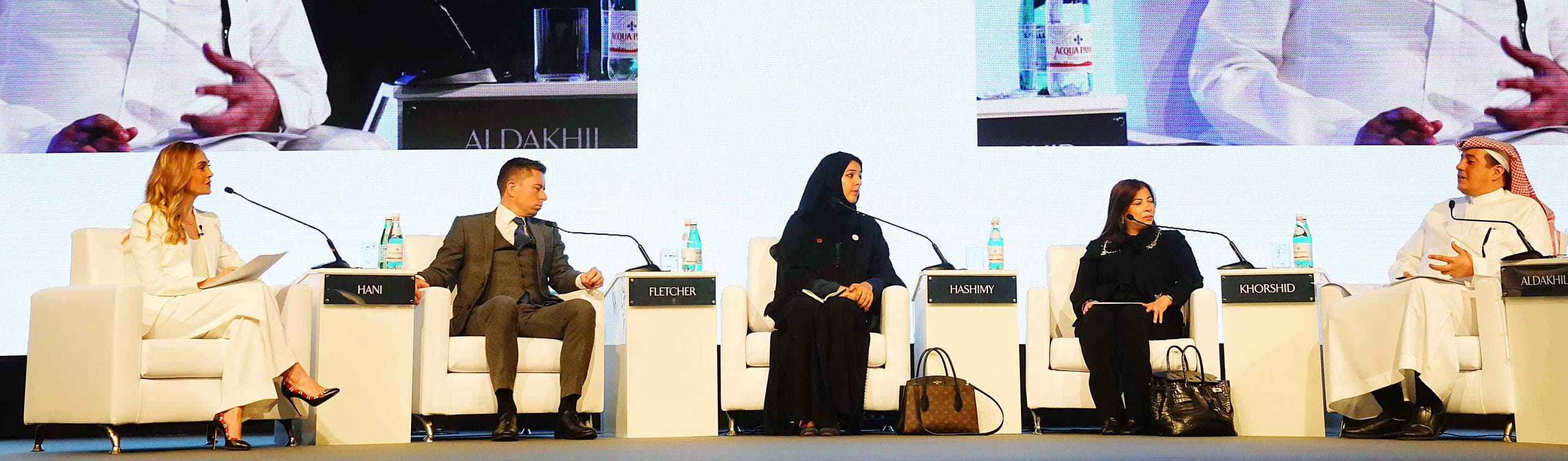 Reem Al Hashimy, UAE Minister of State for International Cooperation Director General, Dubai Expo 2020 Bureau, was also part of the panel. (Supplied)