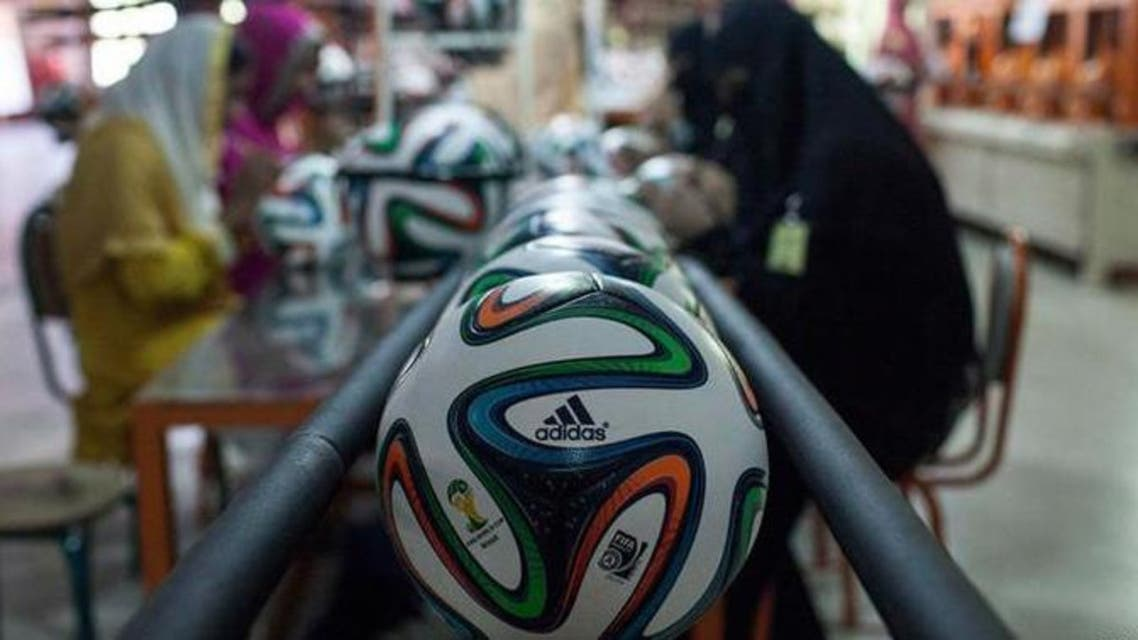 Football made by Pakistani used in FIFA 2018