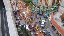 بیروت : حزب اللہ اور امل موومنٹ کے ارکان ہتھیاروں کے ساتھ سڑکوں پر