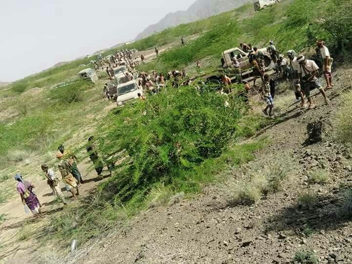 قوات الشرعية اليمنية في الوازعية وتتقدم نحو البرح