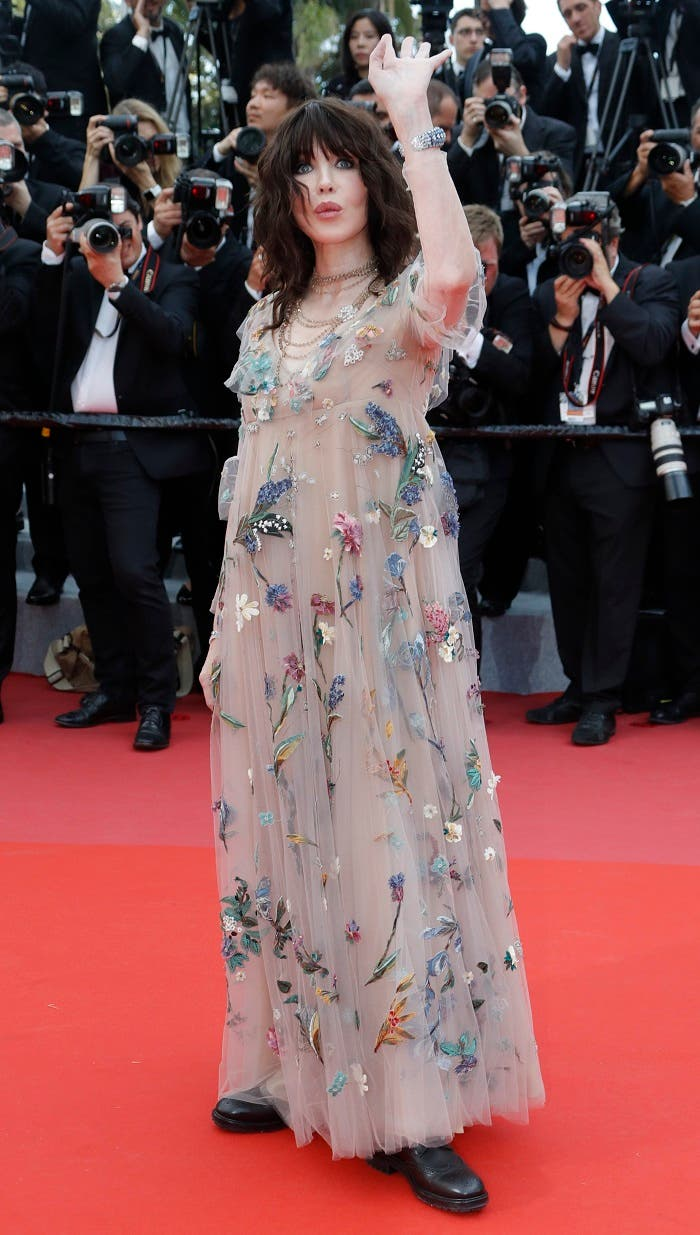 Isabelle Adjani arrives. Reuters