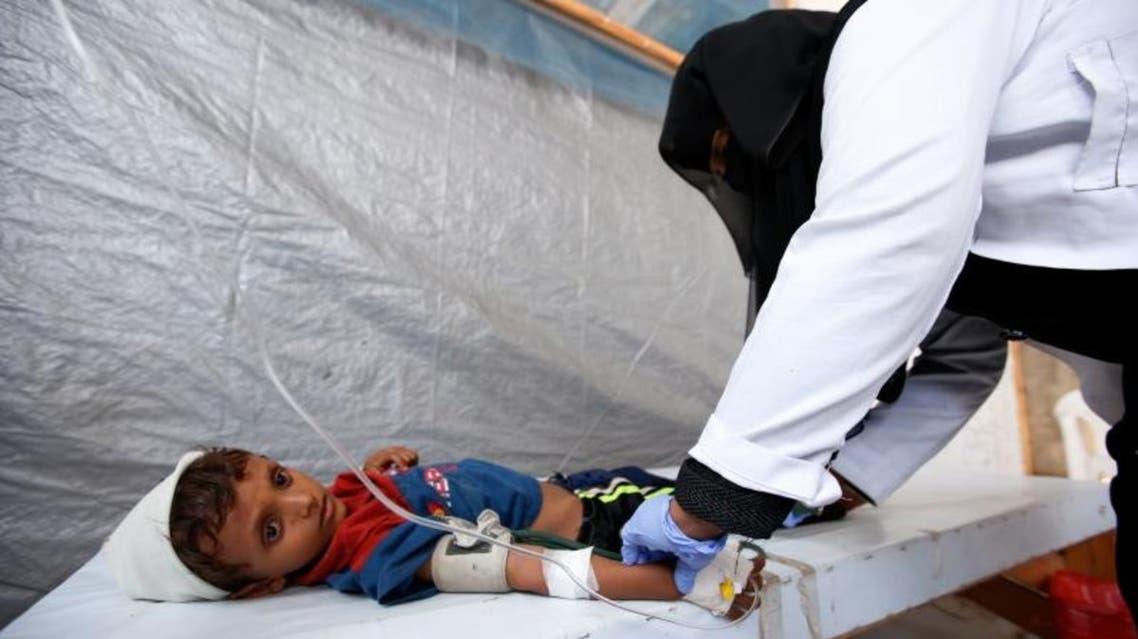 تطعيم ضد الكوليرا في اليمن