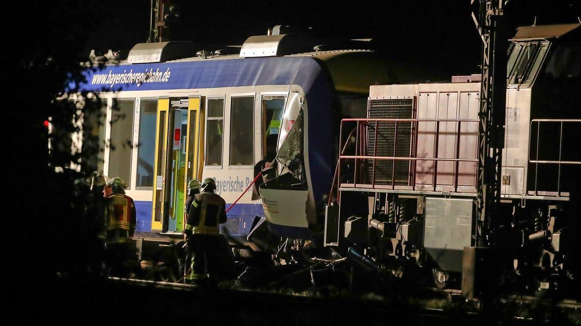 اصطدام قطارين في ألمانيا