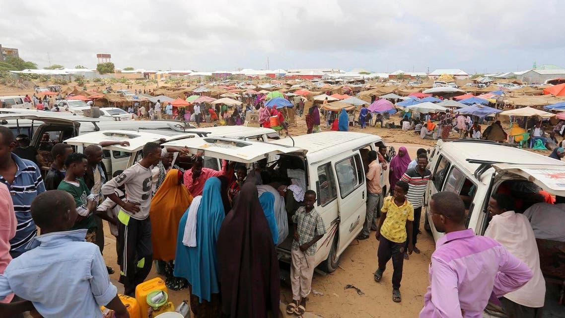 Somalia's khat market. (Reuters)