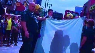 فيديو لهجوم بالأسيد في لندن ضحيته فتاة تعرّت بالشارع