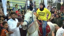 WATCH: Abir Magdy, Egypt's 'young knight' trains horses to dance