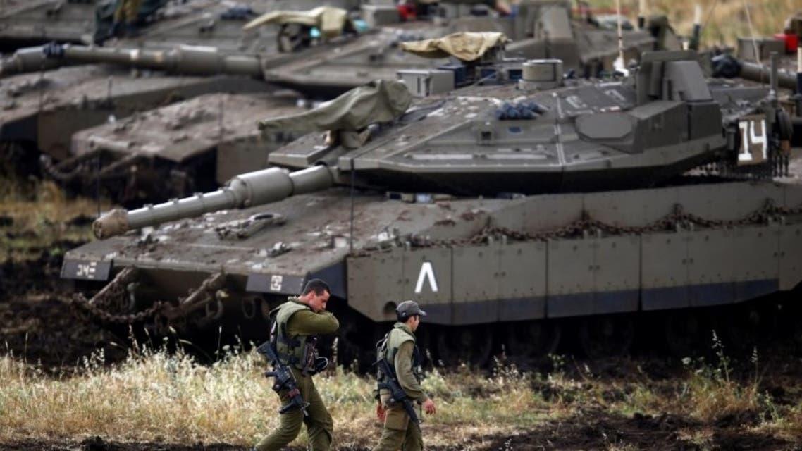 دبابات إسرائيلية في الجولان