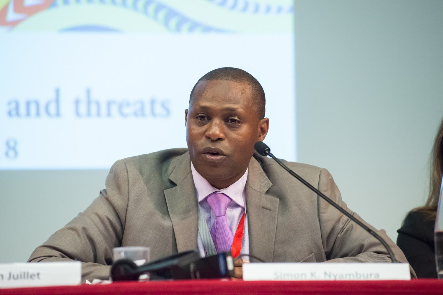Simon K. Nyambura, Director of IGAD Center of Excellence for Preventing and Countering Violence Extremism (ICEPCVE) based in Djibuti