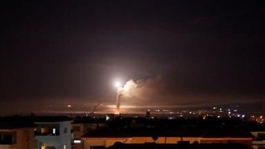 """دفاعات النظام السوري تسقط """"أجساما مضيئة"""" مصدرها إسرائيل"""