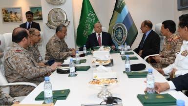 الرئيس اليمني يلتقي قائد قوات التحالف في الرياض