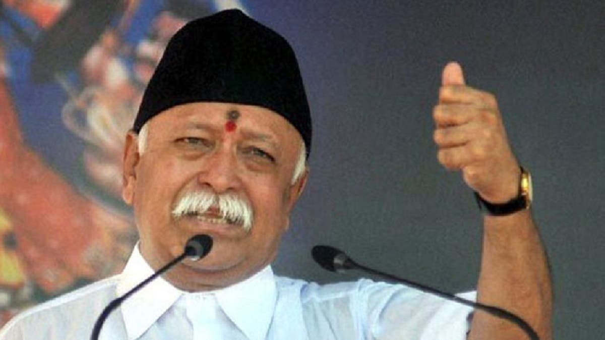 RSS chief Mohan Bhagwat has told the Narendra Modi government not to sell Air India to a foreign bidder. (Supplied)