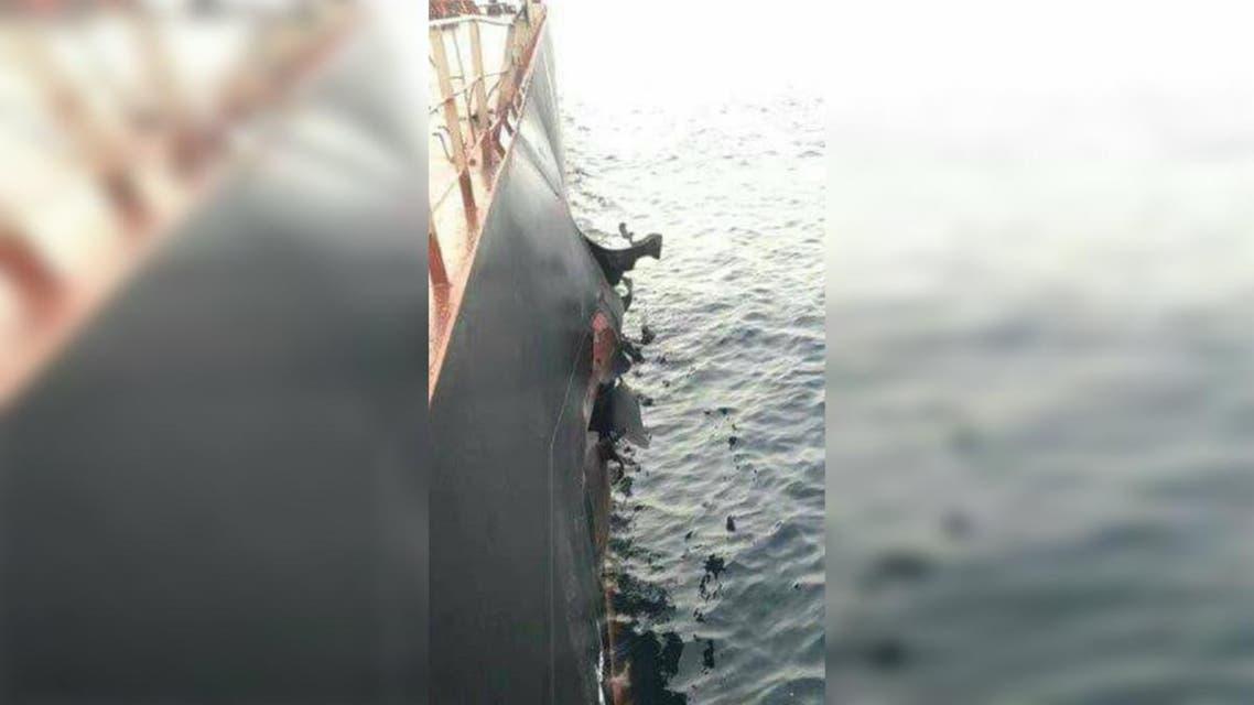 التحالف يفتش سفينة تركية