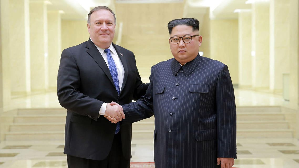 Having returned from North Korea, Mike Pompeo will begin talks to persuade allies to press Iran to return to negotiations. (AFP)