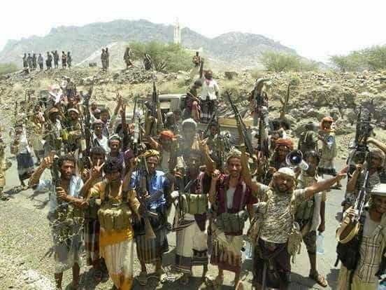 نیروهای مقاومت مردمی و ارتش در الوازعیه