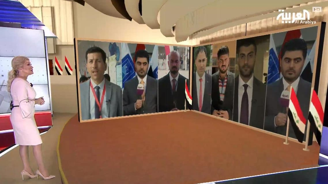 Al Arabiya correspondents report from several Iraq cities during Election Day