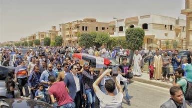 """وداع """"مؤثر"""" للطالبة المصرية المسحولة ببريطانيا"""