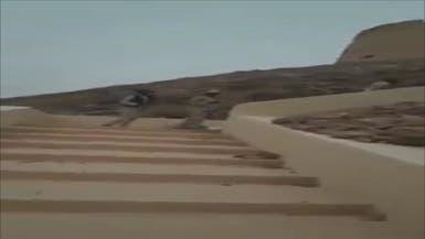 ليبيا.. شاهد ميليشيات التبو تسيطر على قلعة سبها