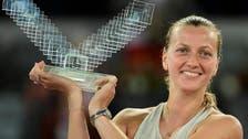 Kvitova lasts the pace to claim record third Madrid title