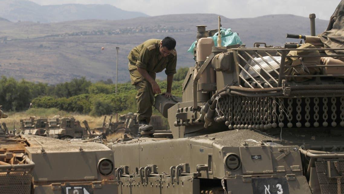 قوات الاحتلال الإسرائيلي على الحدود السورية