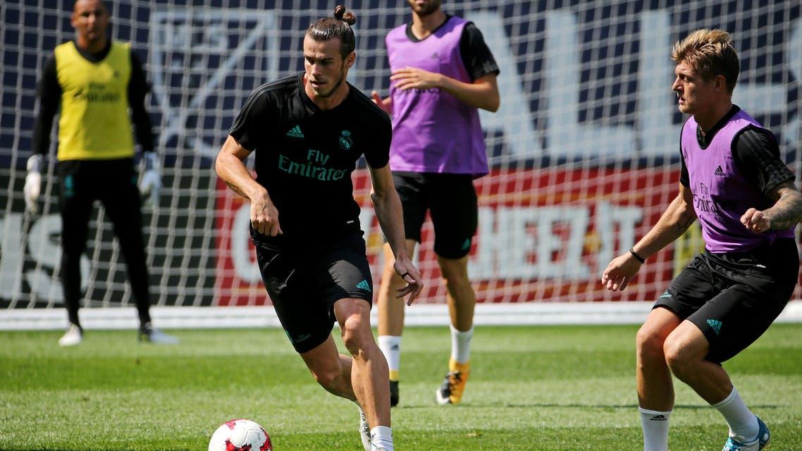 real madrid forward Bale