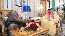 Saudi king receives written message from Kuwaiti emir