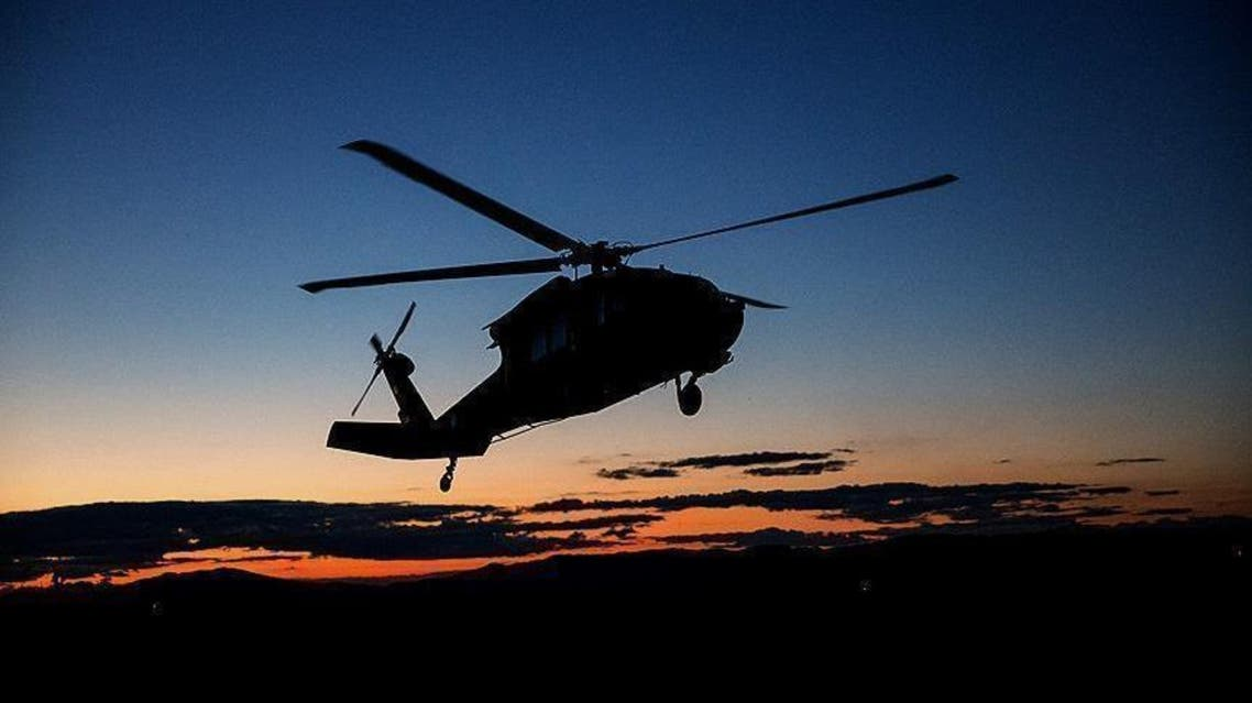نشست اضطرای یک چرخبال نیروهای هوایی در جنوب افغانستان