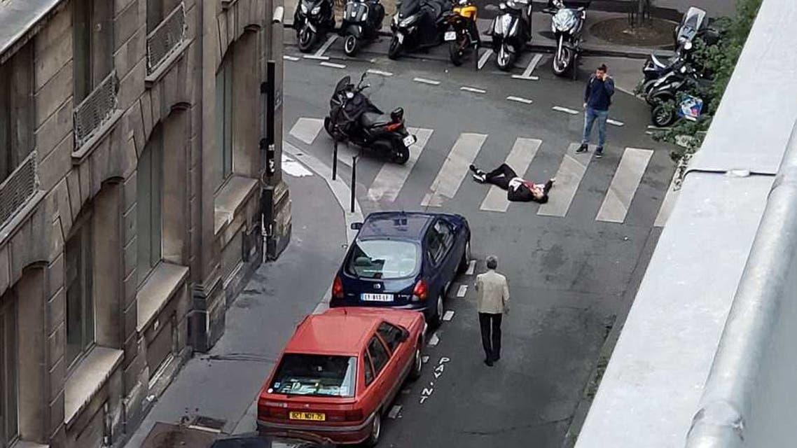 صورة متداولة لهجوم باريس