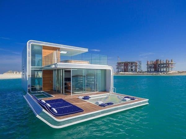 بيوت عائمة في دبي بـ 15 مليون درهم