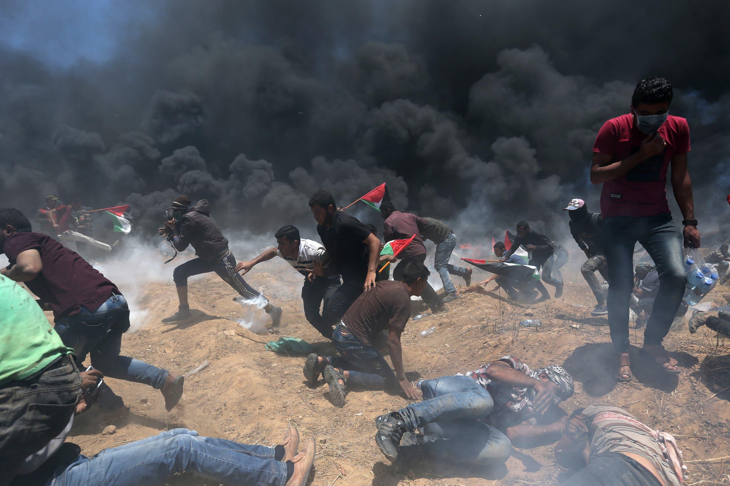 من حدود غزة
