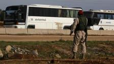شام : 24500 شہریوں اور جنگجوؤں کی وسطی علاقوں سے شمال کی جانب ہجرت