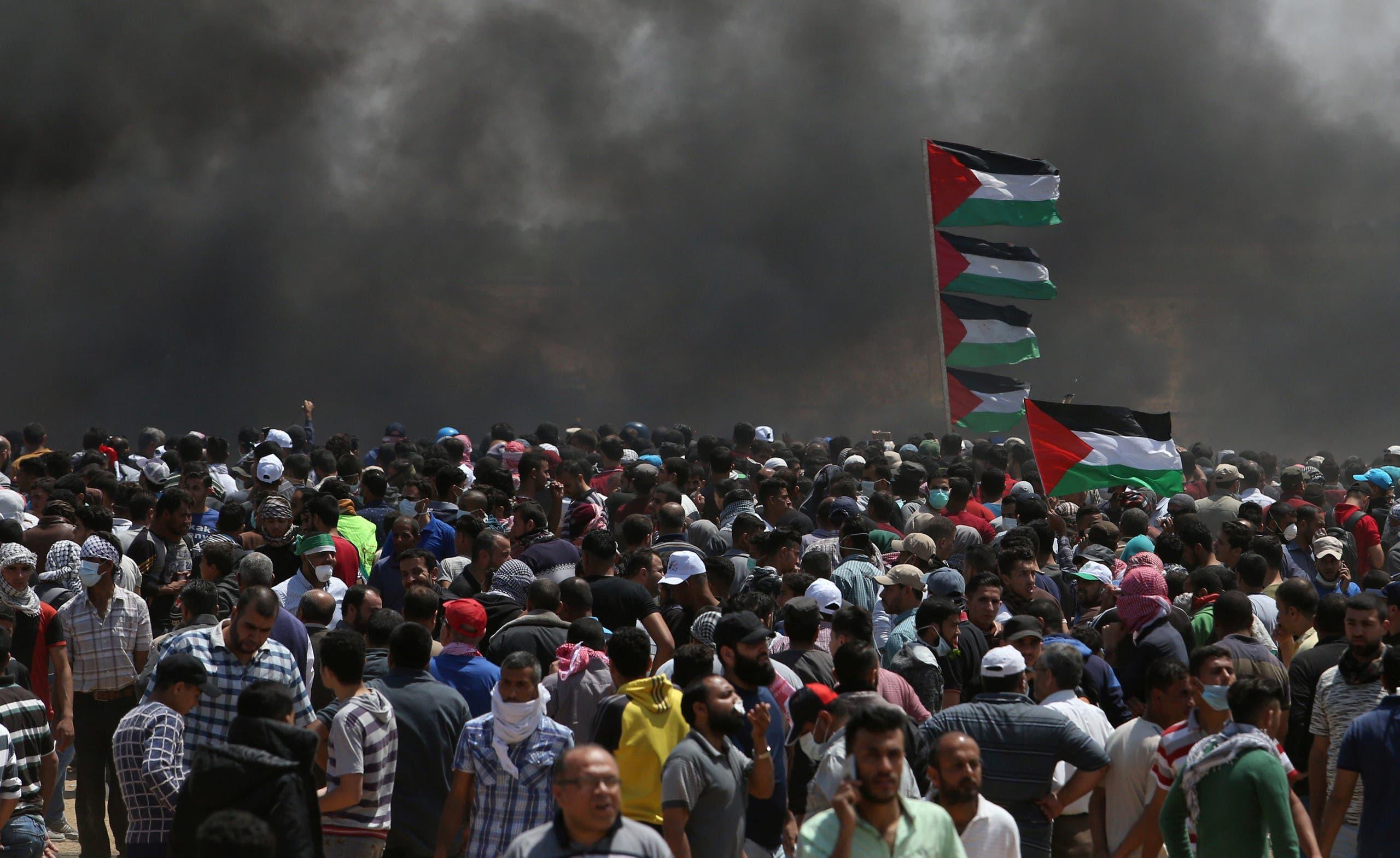 ومن بين القتلى ثمانية أطفال تقل أعمارهم عن 16 عاما، وفقا للمبعوث الفلسطيني لدى الأمم المتحدة.