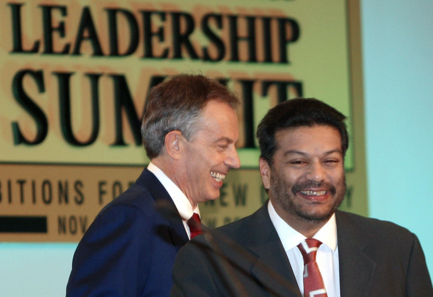 Vir Sanghvi (right) says old-fashioned bank robbers have been replaced by tycoons with political connections. (AFP)