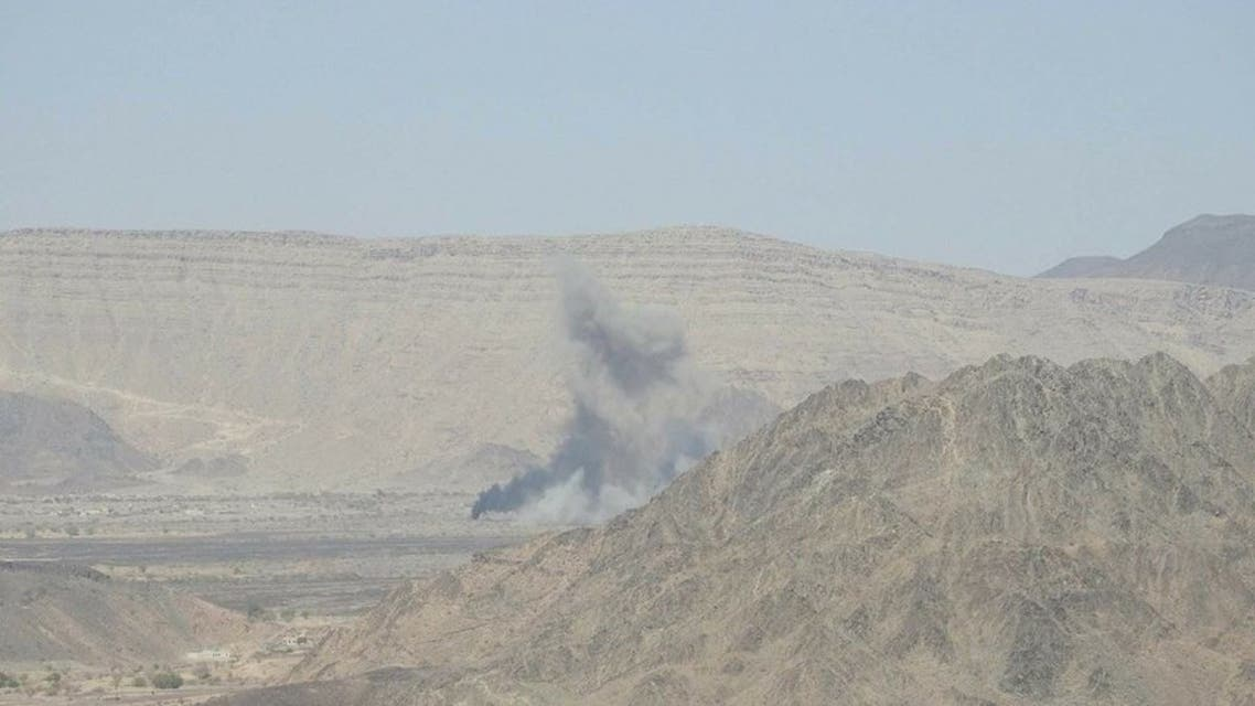 غارة للتحالف على مواقع الحوثيين في صرواح