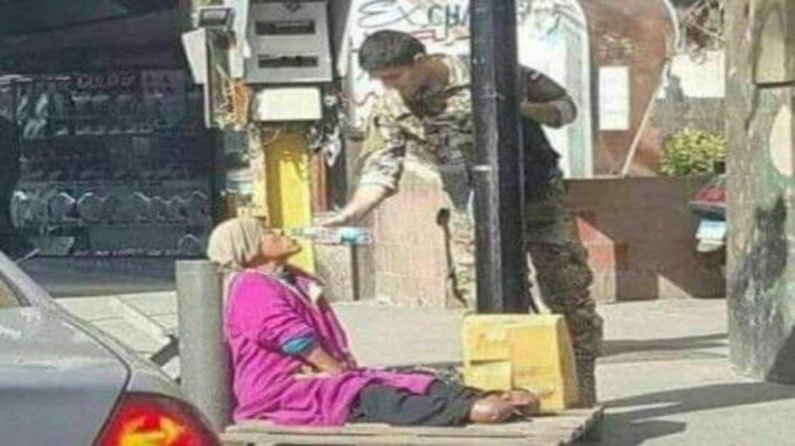 beirut beggar