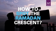 Here are steps to spot the Ramadan crescent