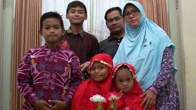 تعرف على العائلة الانتحارية منفذة تفجيرات إندونيسيا