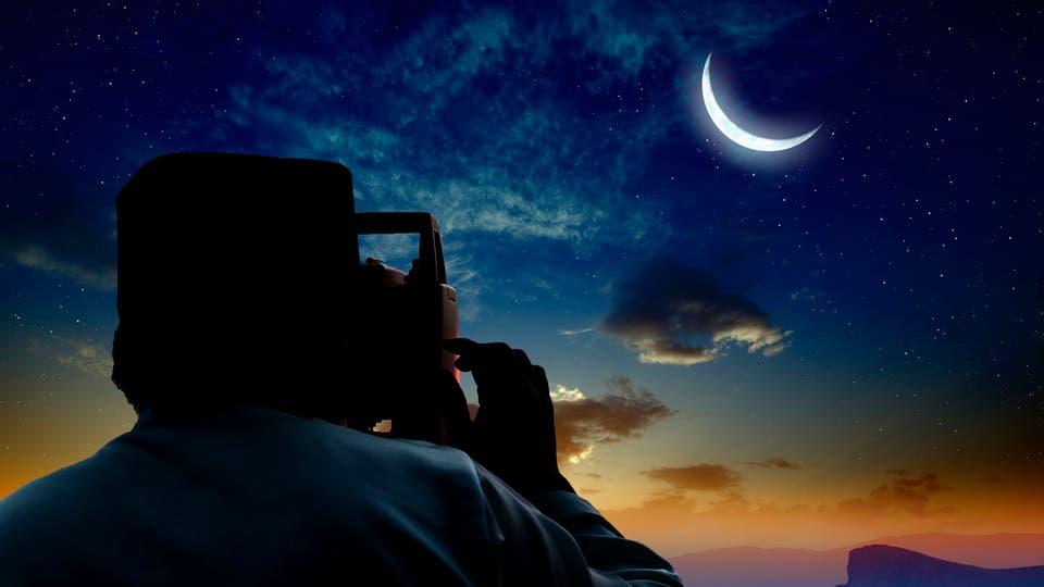 الحسابات الفلكية لهلال شهر رمضان