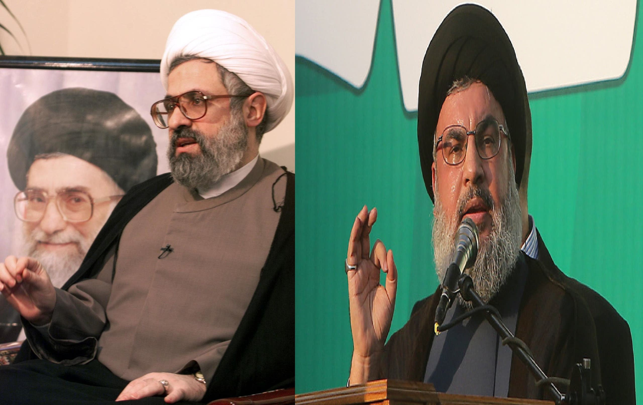 حزب اللہ کے سربراہ حسن نصرالله اور ان کے نائب نعيم قاسم