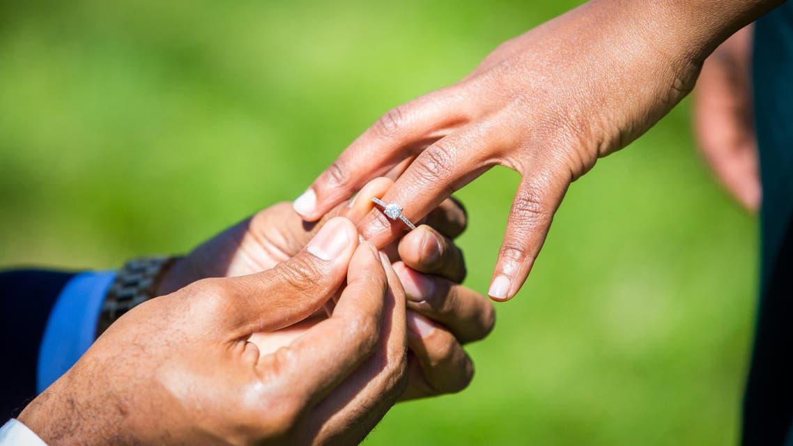 wedding marriage. (Shutterstock)