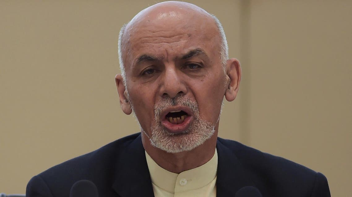 President Ghani met families as well as local elders and apologized, a statement from the presidential palace said. (AFP)