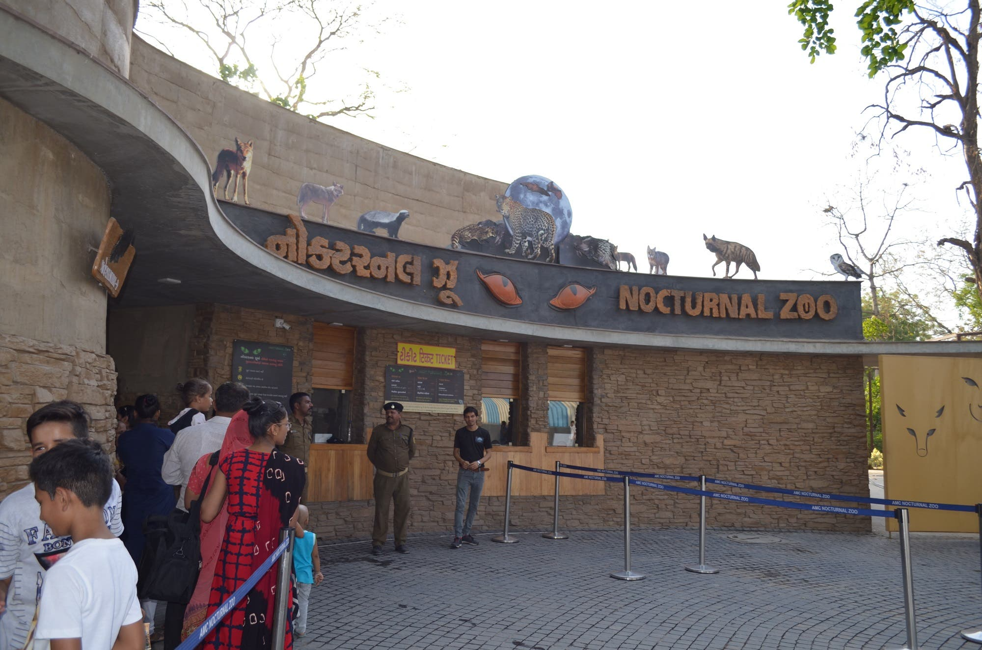 The newly-opened nocturnal zoo in Ahmedabad is a big draw. (Supplied)
