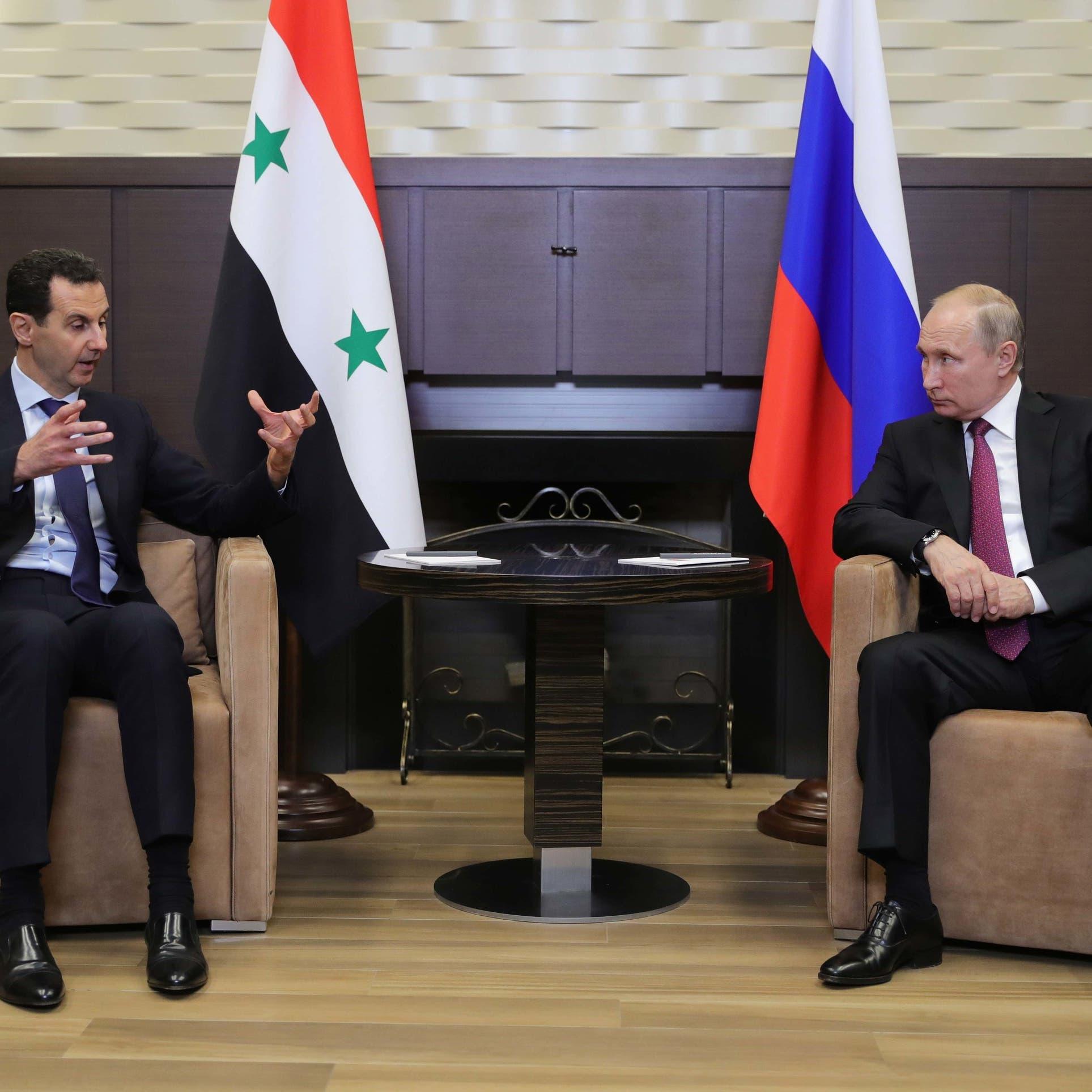 الكرملين: الأسد سافر لروسيا والتقى بوتين بسوتشي