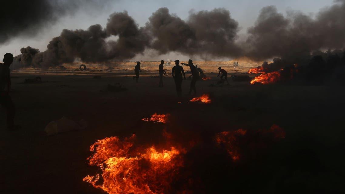 من غزة يوم 15 مايو