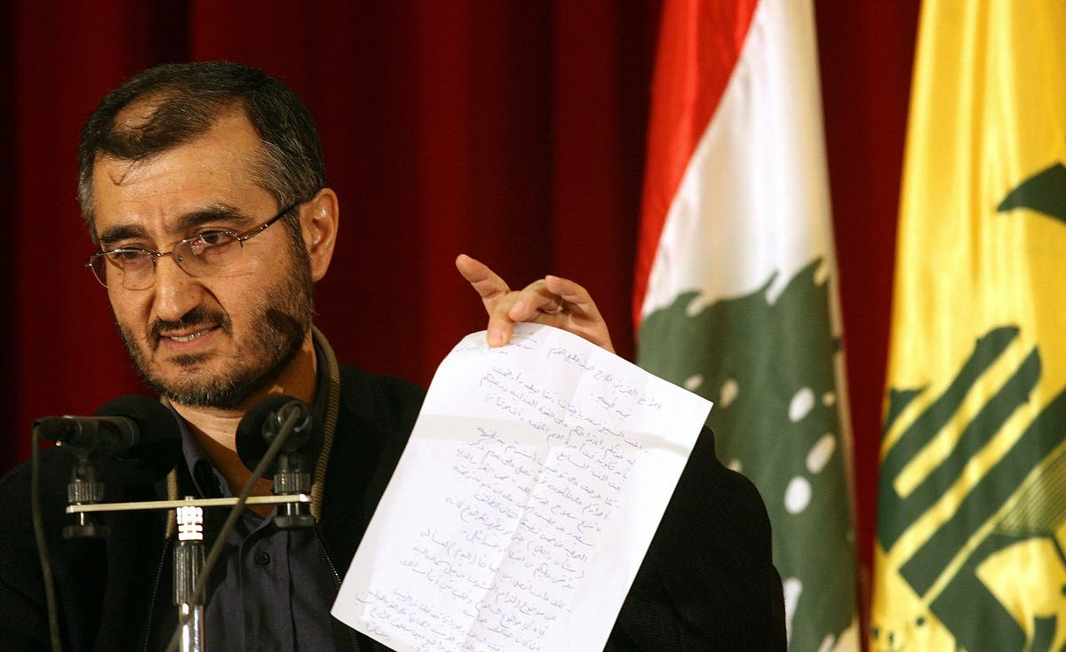 Hezbollah Secretary General Hassan Nasrallah's political advisor Hussein al-Khalil pictured. (AFP)