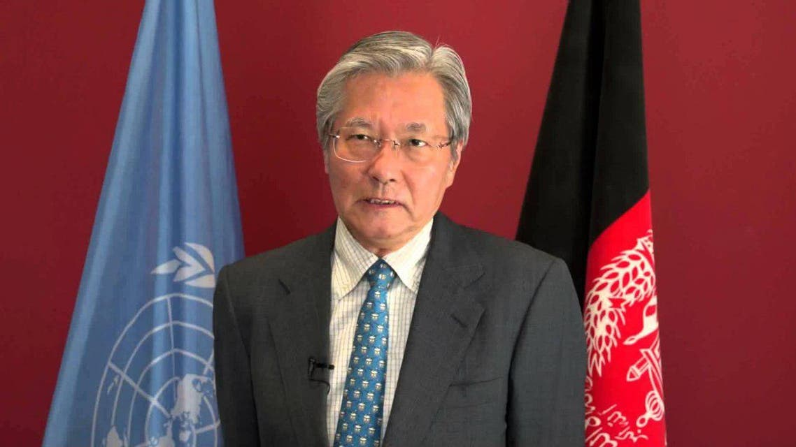 تدامیچی یاماموتو نماینده ویژه سازمان ملل متحد برای افغانستان