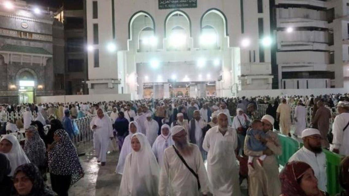 Mecca taraweeh prayers grand mosque. (SPA)