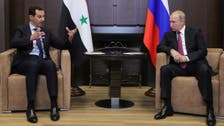 بشار الاسد کی سوچی میں روسی صدر ولادیمیر پیوتن سے ملاقات